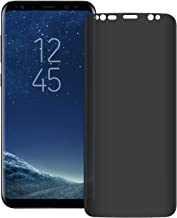 Galaxy S8 Plus Privacy Screen Protector, LETANG [3D Curved] [Case Friendly] 9H Hardness Anti-Spy Tempered Glass Filmy, for Samsung Galaxy S8 Plus / S8 + (Transparent)