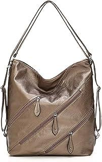 MYBOON 3 In 1 Damen Multifunktionsrucksack Reise Convertible Handtasche Schultertasche
