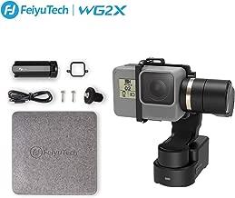 Feiyutech WG2X 3-Axis Gimbal Stabilizer for GoPro Hero 6/5/4/3, DJI Osmo Action, Yi Cam 4K, AEE, SJCAM Sports Cams Action Camera Wearable Stabilizer Gimbal