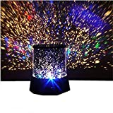 BESSKY Colourful Romantic Cosmos Star Master LED Projector Lamp [Night Light] Good Gift