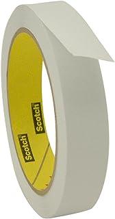 "3M 3051/WI07536 Scotch 3051 Low Tack Paper Tape: 3/4"" x 36 yd, White"