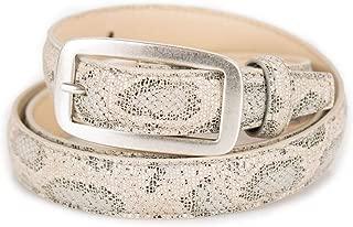 ERLINGER-YD Donna Jeans Cintura retr/ò Cucitura Pelle Cuoio Grande Cintura Extra Lungo Casual Pantaloni Cintura