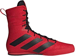 adidas Box Hog 3 Boxing Trainer Shoe Boot Red/Black
