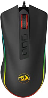 MOUSE GAMER REDRAGON M711 COBRA PRETO RGB