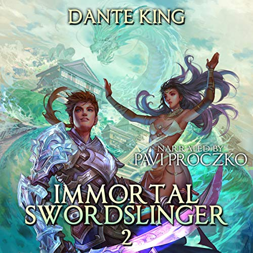 Immortal Swordslinger 2 cover art
