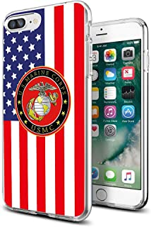 Cocomong Cool Marine Corps USMC Phone Case Compatible with iPhone 7 Plus 8 Plus 5.5