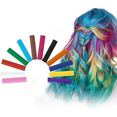 Hair Chalk, Tiza De Pelo, Cabello Tiza, Color de cabello ...