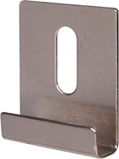Wide Channel Metal Mirror Clip (1/4