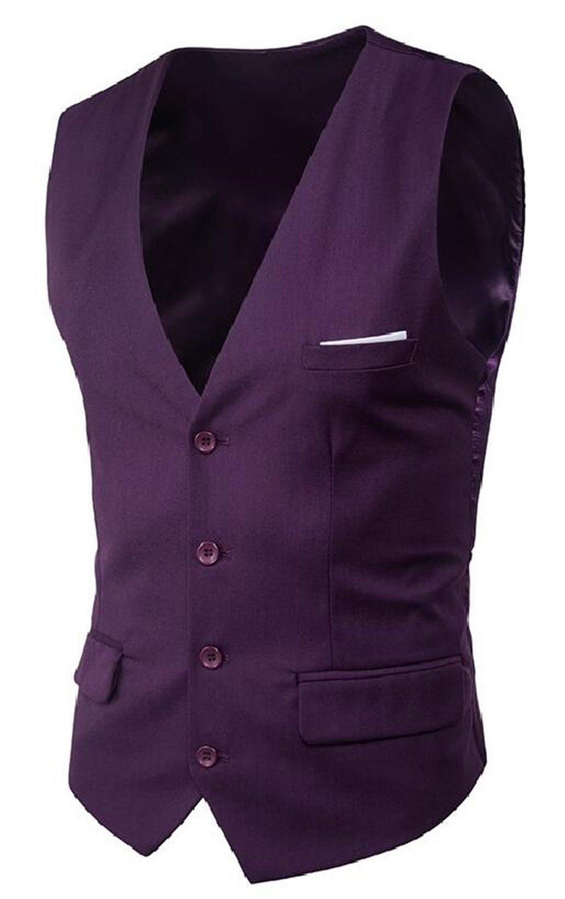 MU2M Men Plaid Woolen Long Jacket Lapel Single Breasted Longline Pea Coat