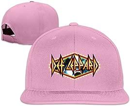 YL&GF Def Leppard Logo Baseball Adjustable Cap Snapback Hats Unisex,men And Women Black