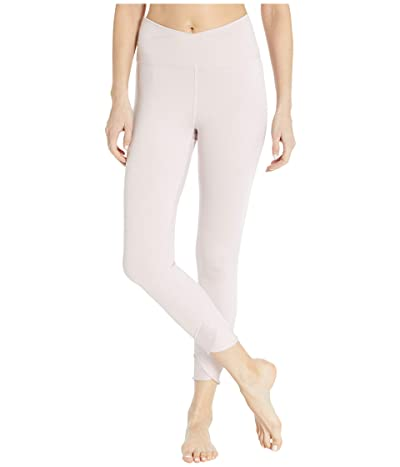 Nike Yoga Wrap 7/8 Tights (Plum Chalk/Heather/Barely Rose/Plum Chalk) Women