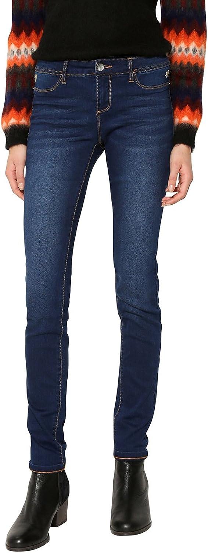 Desigual Jeans Stretch Denim Second Skin 17WWDD16