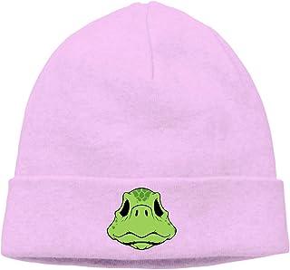 30c01439fe5 Cartoon Turtle Head Unisex Winter Knitting Wool Warm Hat Daily Slouchy Hats  Beanie Skull Cap