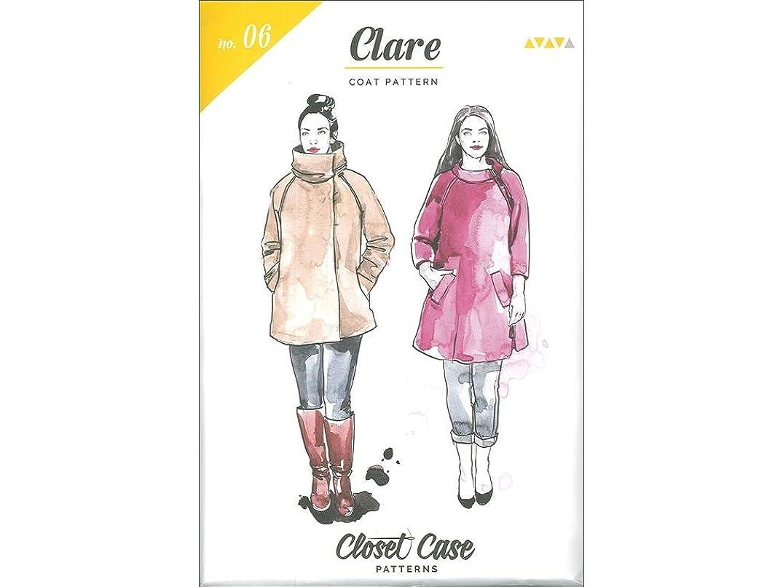 Closet Case Patterns Closet Case Clare Claire Coat Ptrn