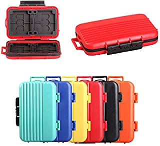 Memory Card Cases, HelloPower SD SDHC SDXC CF TF Memory Card Case Holder Waterproof Carrying Storage Case Holder Box Keepe...