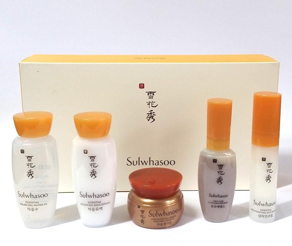マンハッタン住むアッパー[Sulwhasoo] Basic Kit (5 items) X 1SET / 韓国ハーブスキンケアセット/ Korean Herbal Skin Care Set / 韓国化粧品 / Korean Cosmetics [並行輸入品]