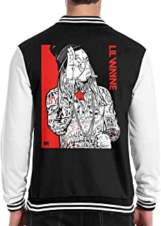 Lil Wayne Men Baseball Jacket Outerwear Coats Long Sleeve Shirt