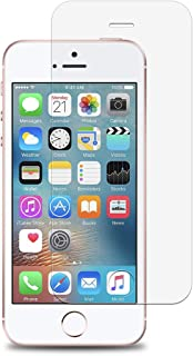 Woodcessories - Screen Protector Compatible with iPhone, Japanese 2.5D Tempered Glass, 9H Hardness, Bubble Free, Anti Fingerprint, Clear (iPhone 5/5s/5c/SE)