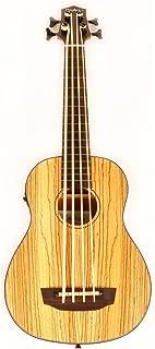 Hadean Acoustic Electric Bass Ukulele UKB-22 FL NM Fretless Uke UBass