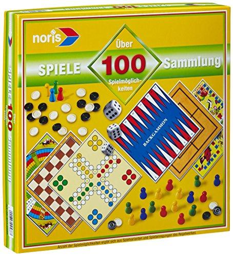 Noris 606112588 - Spielesammlung mit 100 Spielmöglichkeiten