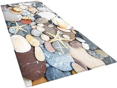 F Fityle Area Rug Pad for Hardwood & Hard Floors, Floor Rugs Runners Non Slip Carpet Decoration for Living Room Kitchen Entryway Bedroom Bathroom - Beige, 180x60cm