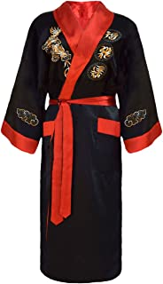 laciteinterdite Herren japanischer Morgenmantel Kimono umkeh