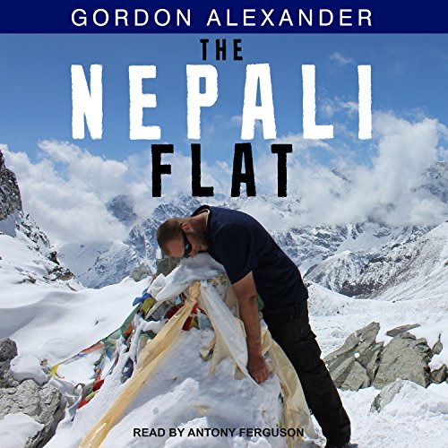 The Nepali Flat audiobook cover art