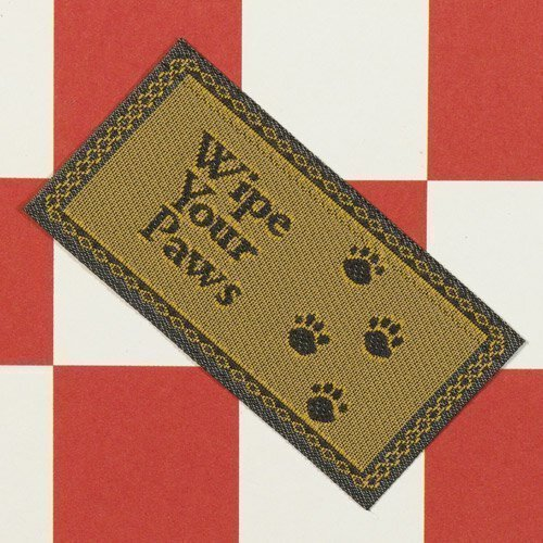 The Dolls House Emporium 'Wipe your Paws' Paillasson