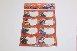 Stamps names 10 pieces SBC