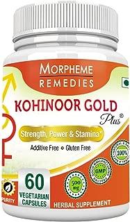 Morpheme Remedies Kohinoor Gold Plus 60 Veg Caps