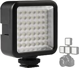 SUPON 49 LED Continuous On Camera LED Panel Light,Portable Dimmable Camera Camcorder Led Panel Video Lighting Compatible for DSLR Camera Canon,Nikon,Sony,Panasonic,Olympus,Fuji,Godox Lighting(1xPcs)