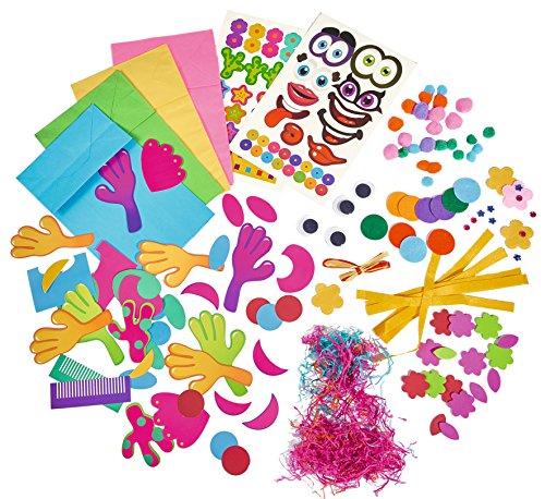 Simba 106306085 - Art & Fun Papierfiguren basteln mit über 200 Teile