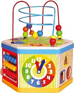 Bino & Mertens 8418 – kombinationsmotorikkjolar, flera färger. 7 olika spelformer för att främja finmotoriska färdigheter ...