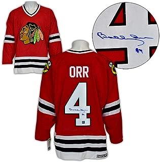 Signed Bobby Orr Jersey - Chicago Blackhawks CCM Vintage : GNR COA - Autographed NHL Jerseys
