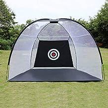 Golf Cage Practice Net Training Indoor Outdoor Sport Golf Exercise Equipment Garden Trainer Zhaozb (Color : 2meter)