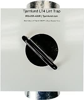 Tjernlund LT4 Lint Trap for DEDPV Dryer Booster Fans
