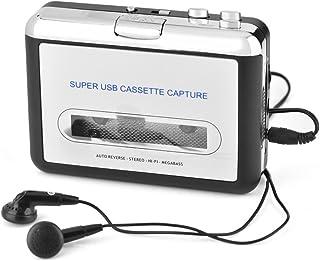 $29 » Sponsored Ad - Pusokei Cassette to MP3 Converter- Cassette Player USB Cassette Tape to PC MP3 CD Converter Capture, Casset...