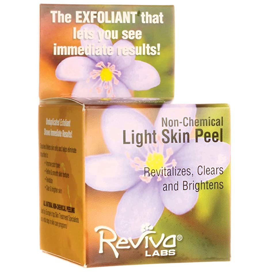 側発生するより平らなReviva Labs レビバ社 Light Skin Peel 1.5 oz (42 g) ライトスキンピール?角質落としー 海外直送品