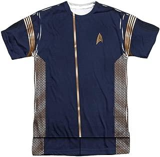 Star Trek Discovery Uniform T Shirt- Adult Short Sleeve T Shirt