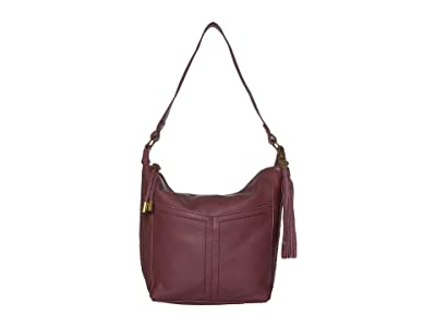 The Sak The 130 Bucket by The Sak Collective (Cabernet) Handbags