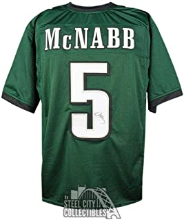 Signed Donovan McNabb Jersey - Green COA - JSA Certified - Autographed NFL Jerseys