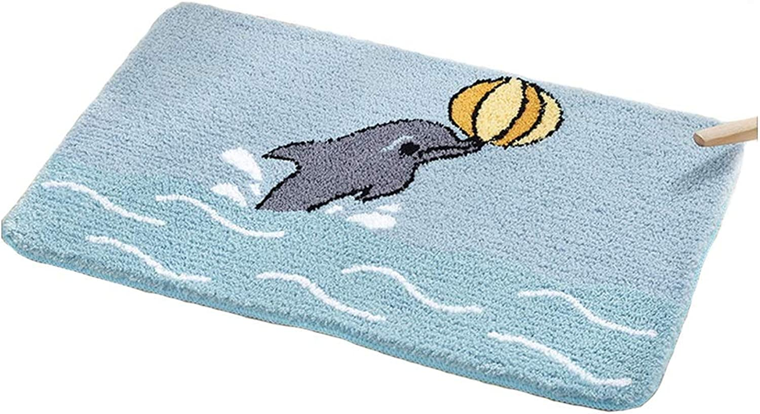 XF Doormats Door Mat Creative Cartoon Entrance Hall Kitchen Entrance Carpet Mat Bedroom Bathroom Bathroom Door Absorbent Floor Mat -55x80 cm, 60x90 cm Hallway Furniture (Size   50X80cm)