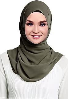 Best chiffon georgette hijabs Reviews