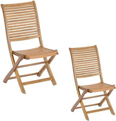 Magazzini COS055 Stuhl aus Holz, ohne Armlehnen, Modell Riviera