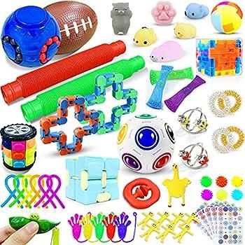 59-Pieces Wtor Stress Relief Sensory Anti-Anxiety Fidget Toys