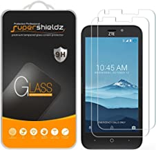 (2 Pack) Supershieldz for ZTE Zfive 2 LTE Tempered Glass Screen Protector, Anti Scratch, Bubble Free