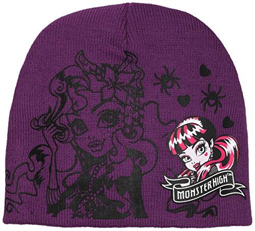Monster High Sombrero, Morado, X-Small para Niñas