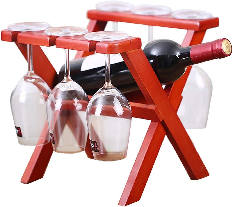 punto de venta Estante Del Vino De La La La Moda Titular De La Copa De Vino Creative Bar Estante De Madera Del Cubilete De La EjecucióN Estilo De Rejilla De Secado  para barato