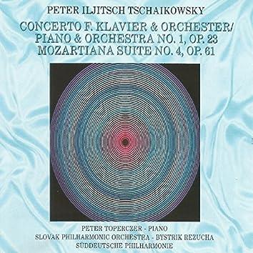Piotr Ilyich Tchaikovsky - Concerto F. Klavier  & Orchestra