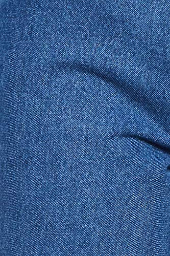 AKA CHIC Women's Relaxed Fit Jeans (AKCB 1425_Blue_26)